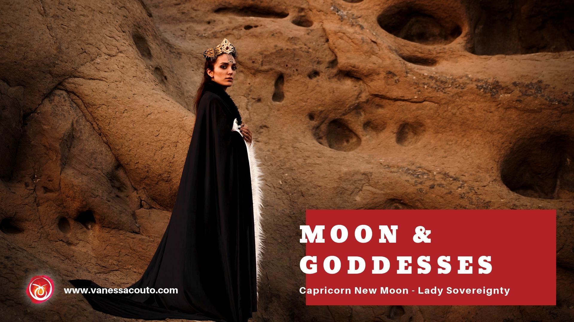moon and goddess